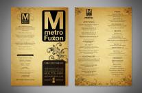 Metro Fuxon Takeout Menu
