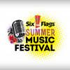 Six Flags Summer Music Festival Logo