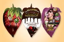 Tasty Chocolate Die-Cutt Flyer