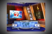 WINTV Channel 7 Set Design