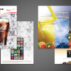 Media Folders for Coca Cola Atlanta.