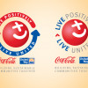 Coca Cola Live Positively Logos