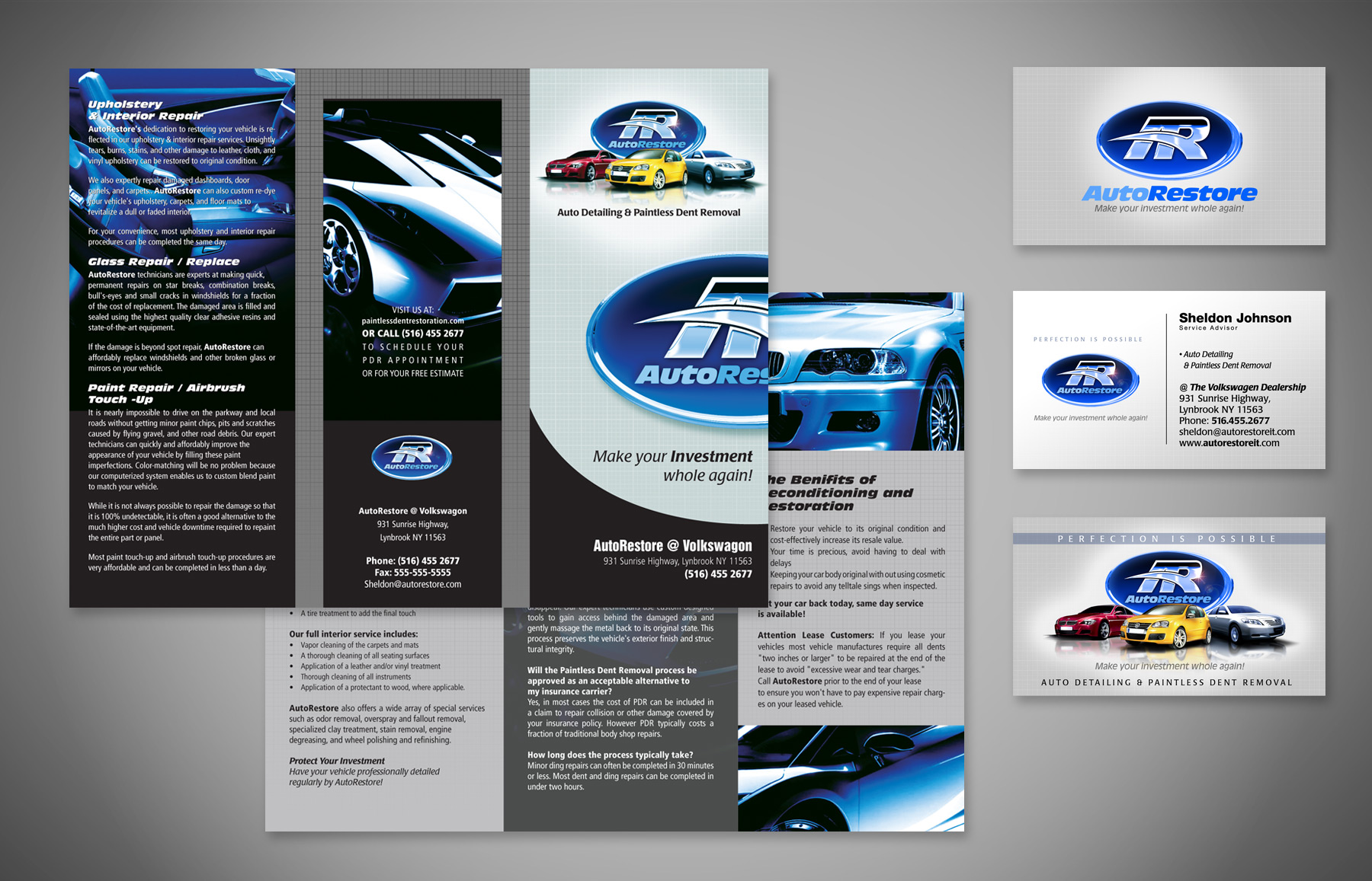 Autorestore brochure business cards am creative group autorestore brochure business cards colourmoves