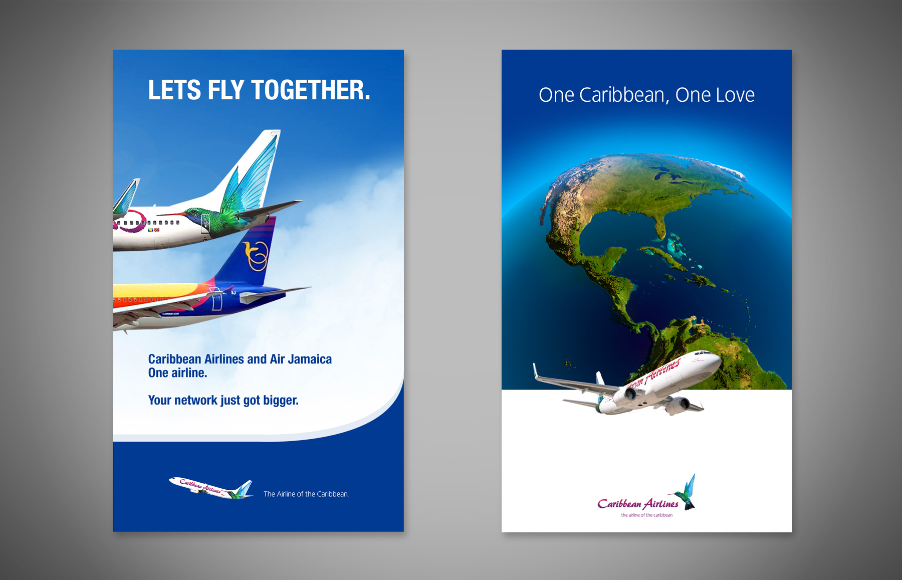 Caribbean Airlines AD AM Creative Group