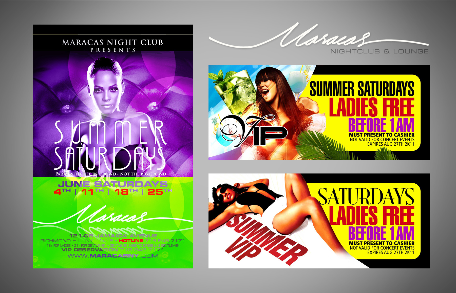 maracas night club flyers 2