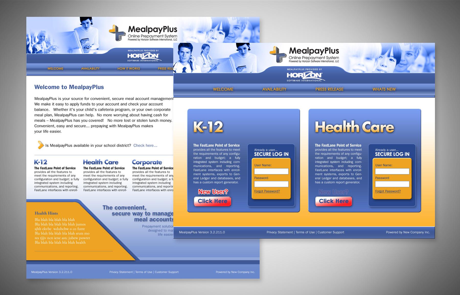 MealpayPlus Web Landing Page