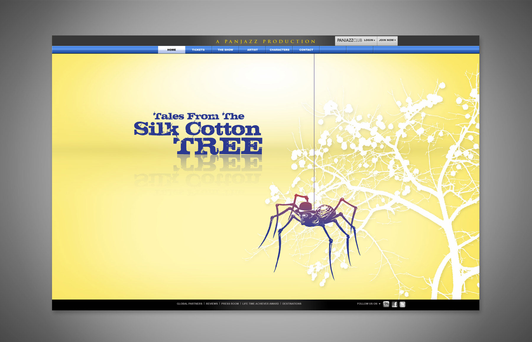 Tales from the Silk Cotton Tree Website