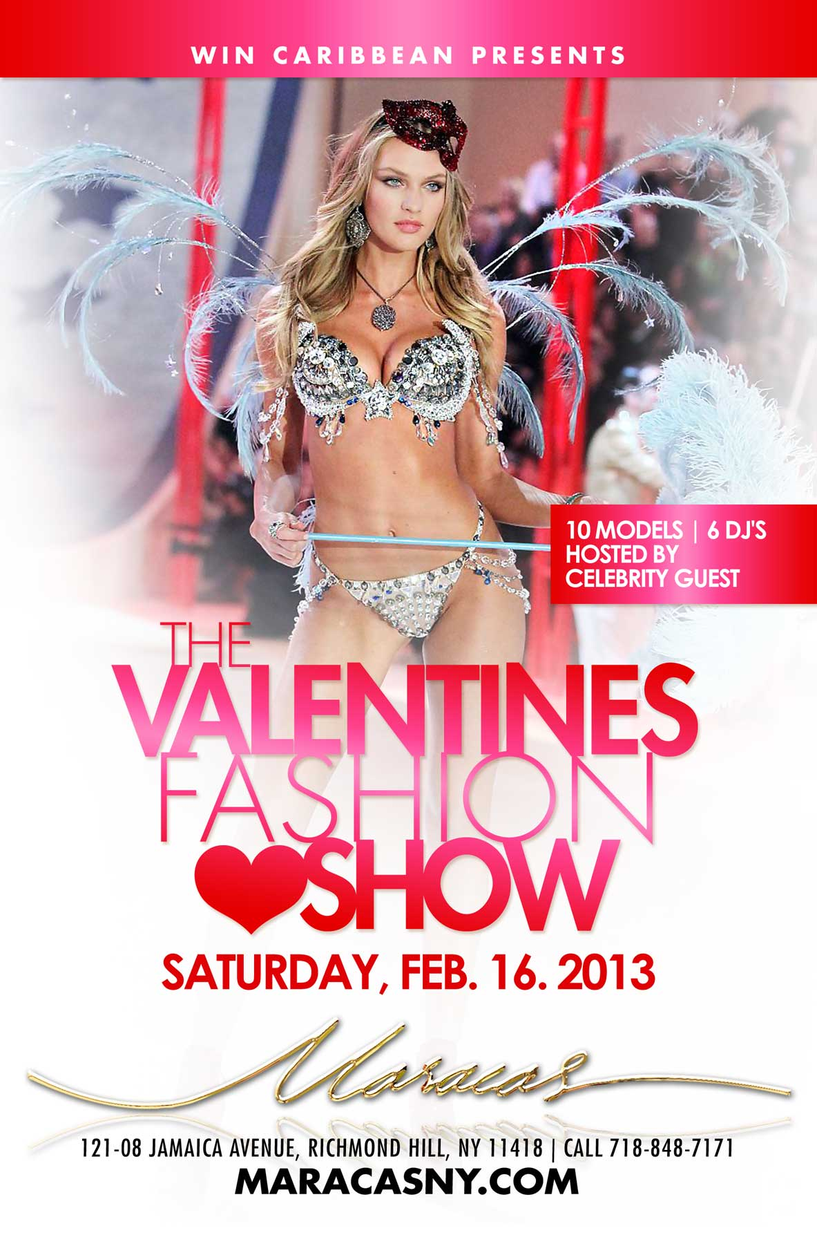 Valentines Fashion Show Flyer | AM Creative Group