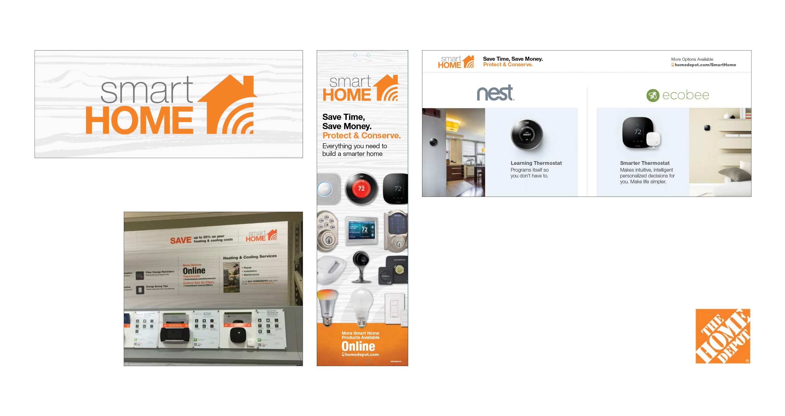 The Home Depot Smart Home Branding Am Creative Group