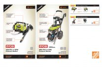 Home Depot | Pressure Washer Product Cards